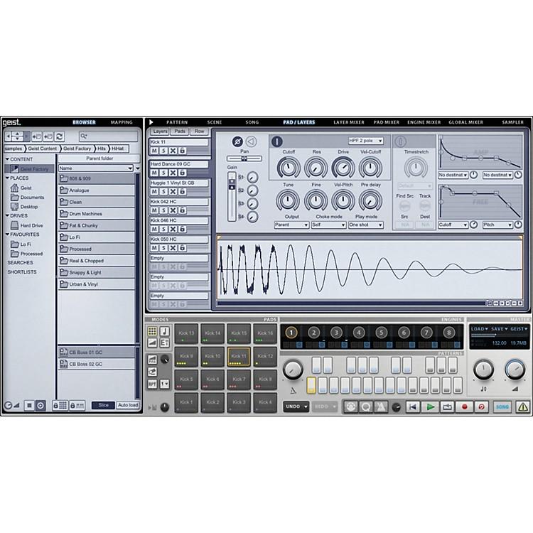 FxpansionGeist Virtual Sampling InstrumentSoftware Download