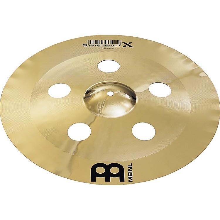 MeinlGeneration X China Crash Cymbal