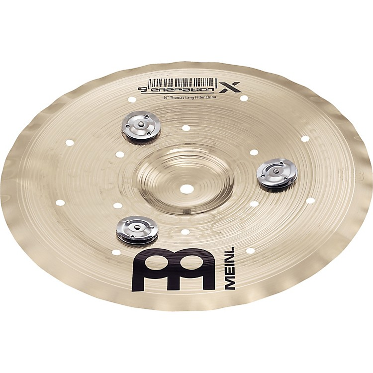 Meinl Generation X Filter China Effects Cymbal with Jingles 14 in.