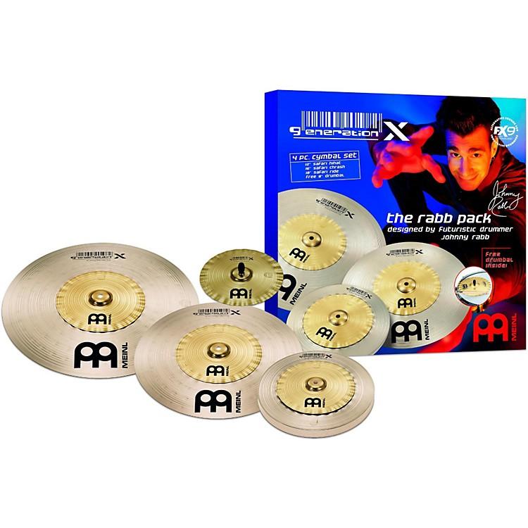 MeinlGeneration X Rabb Pack Cymbal Set