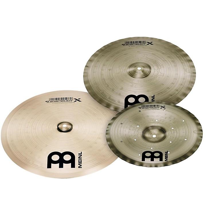 MeinlGeneration X Thomas Lang Cymbal Pack