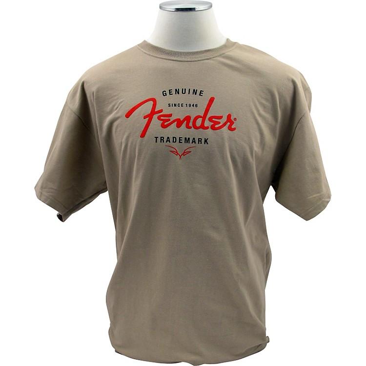 FenderGenuine Trademark T-ShirtSandSmall