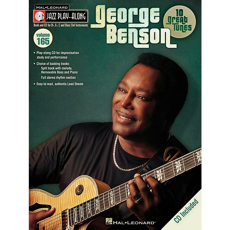 Hal Leonard George Benson Jazz Play Along Series Volume 165 Book/CD