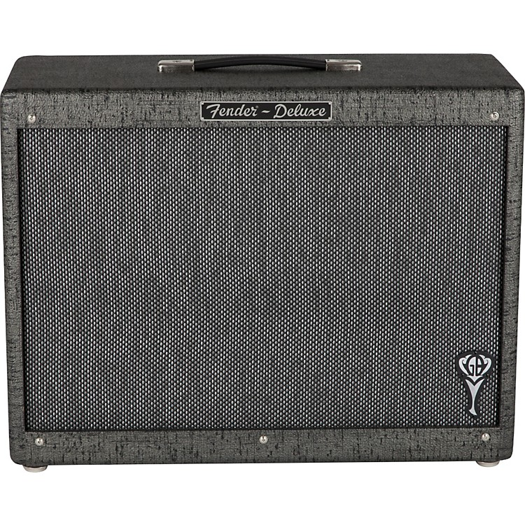 Fender George Benson Signature Hot Rod 1x12 Guitar Cab Black