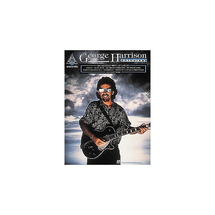 Hal LeonardGeorge Harrison Anthology Guitar Tab Book