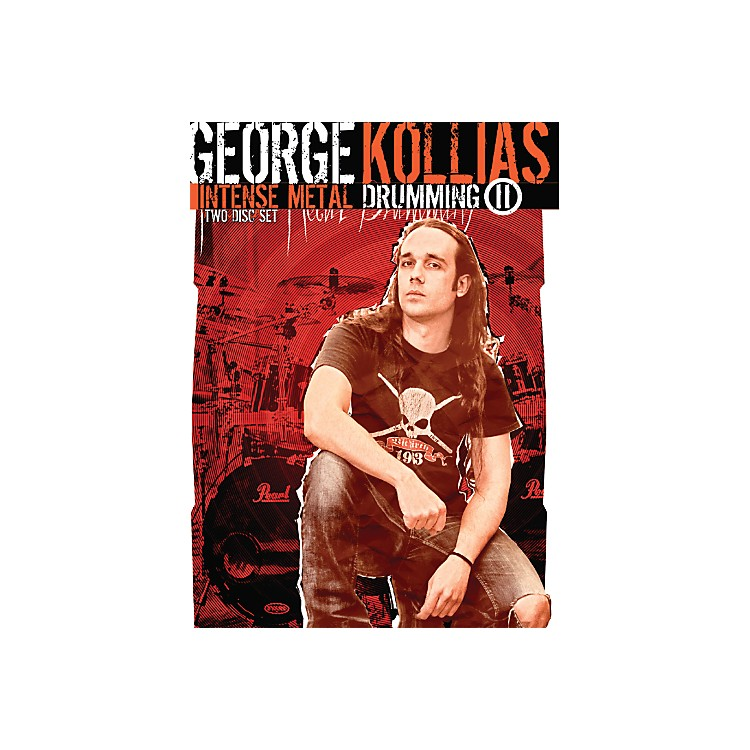 Hal LeonardGeorge Kollias: Intense Metal Drumming II (2-DVD)
