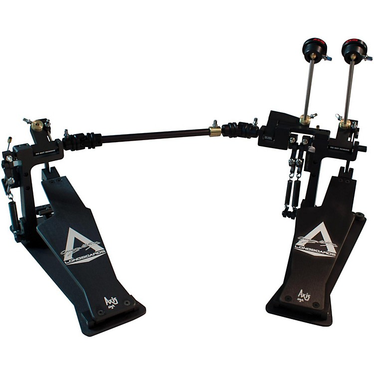 Axis George Kollias Signature Edition Double Bass Drum Pedal Classic Black