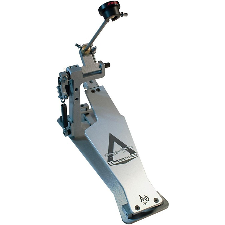 Axis George Kollias Signature Edition Single Bass Drum Pedal Silver