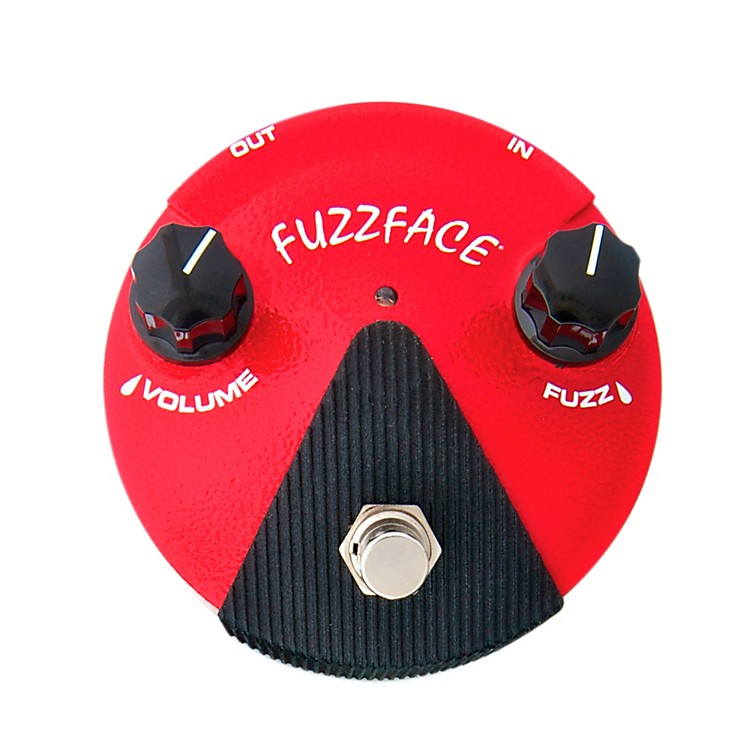 Dunlop Germanium Fuzz Face Mini Red Guitar Effects Pedal