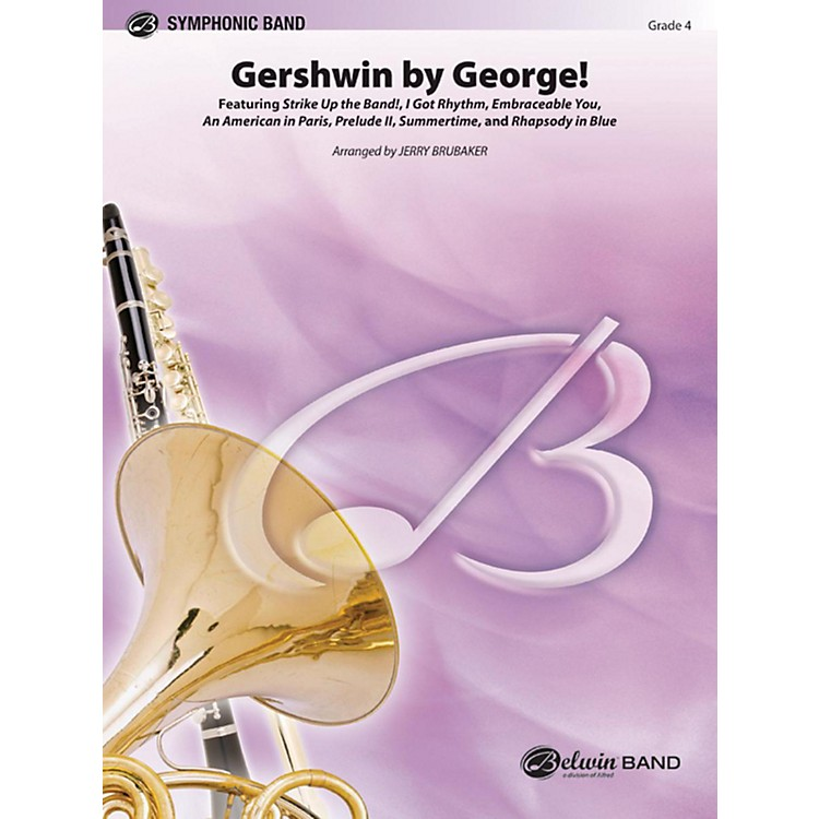 Alfred Gershwin by George! Concert Band Grade 4