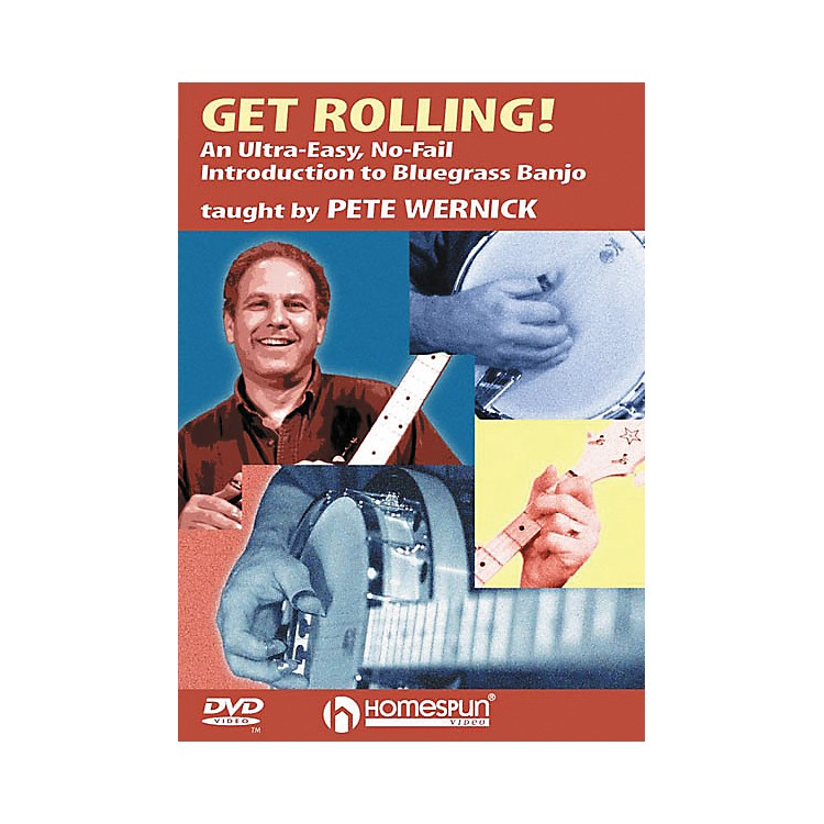 HomespunGet Rolling - An Ultra-Easy, No-Fail Introduction to Bluegrass Banjo (DVD)