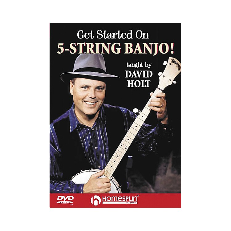 Homespun Get Started on 5-String Banjo! (DVD)
