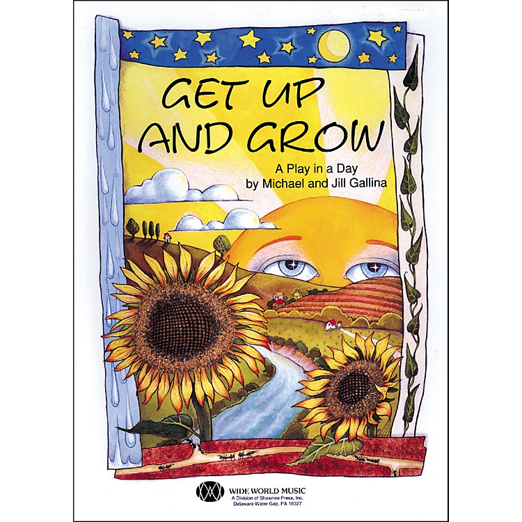 Shawnee Press Get Up And Grow (Book/CD) Book and CD