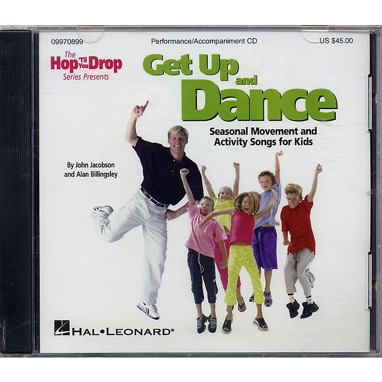Hal Leonard Get Up and Dance Performance/Accompaniment Cd