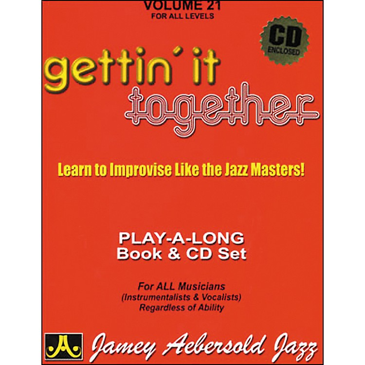 Jamey AebersoldGettin' It Together Volume 21 Book and CD