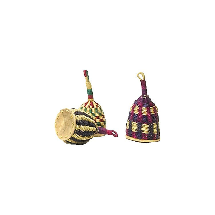 Overseas Connection Ghana Traditional Caxixi Rattle  7 x 3 in.
