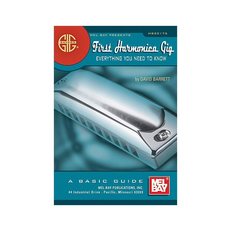 Mel BayGig Savers: First Harmonica Gig Book