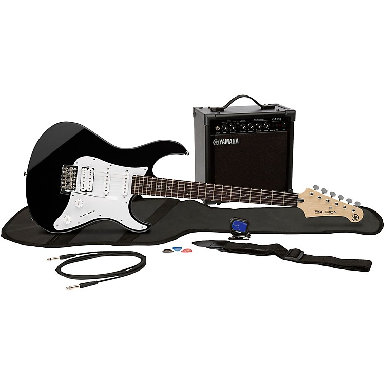 YamahaGigMaker EG Electric Guitar PackBlack