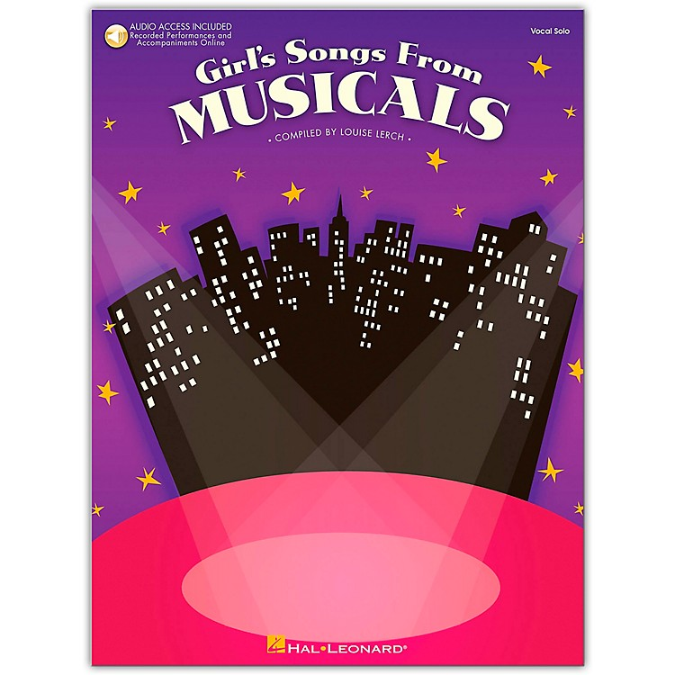 Hal LeonardGirl's Songs From Musicals Book/CD