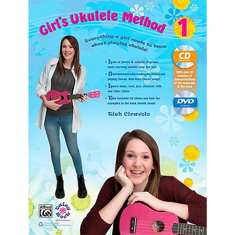 AlfredGirl's Ukulele Method 1 Book, CD & DVD