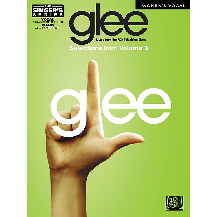Hal LeonardGlee - Women's Edition Selections From Glee: The Music Vol. 3 The Singer's Series