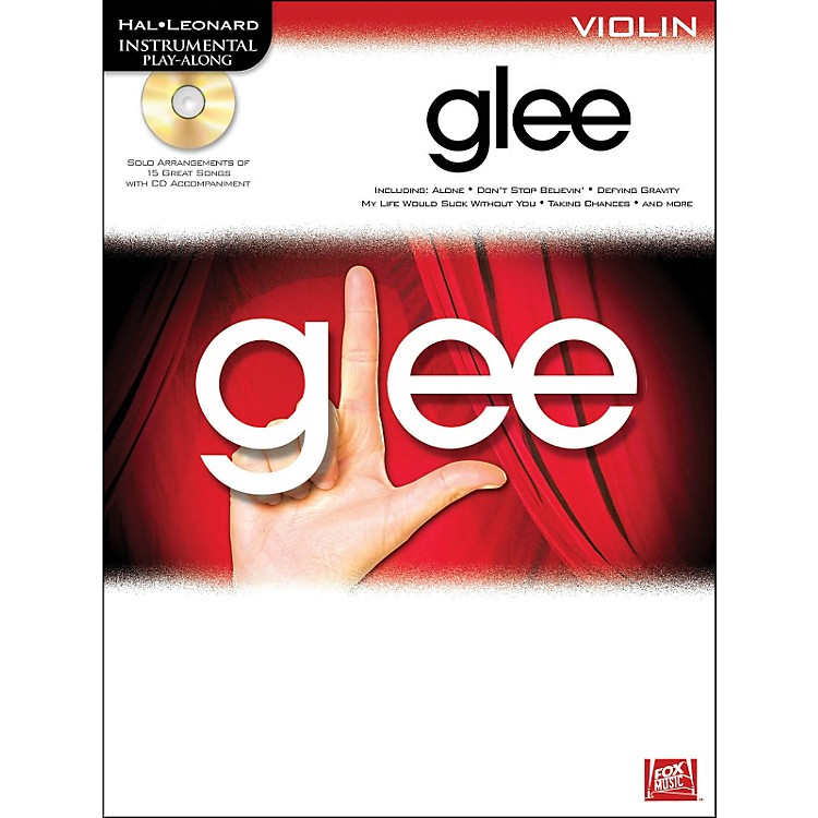 Hal Leonard Glee For Violin - Instrumental Play-Along Book/CD