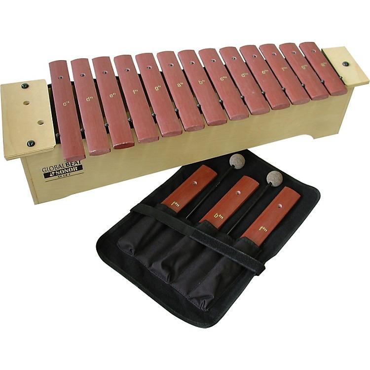 SonorGlobal Beat Soprano Xylophone with Fiberglass BarsFiberglass Bars