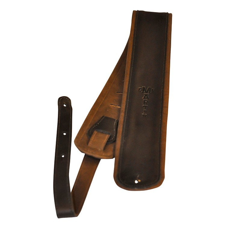 MartinGlove Leather Guitar StrapBlack