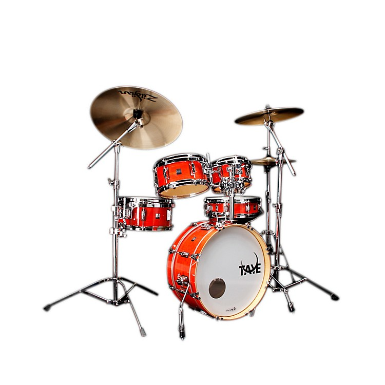 Taye Drums GoKit Birch / Basswood 5 Piece Shell Pack Daytona Sunset Lacquer