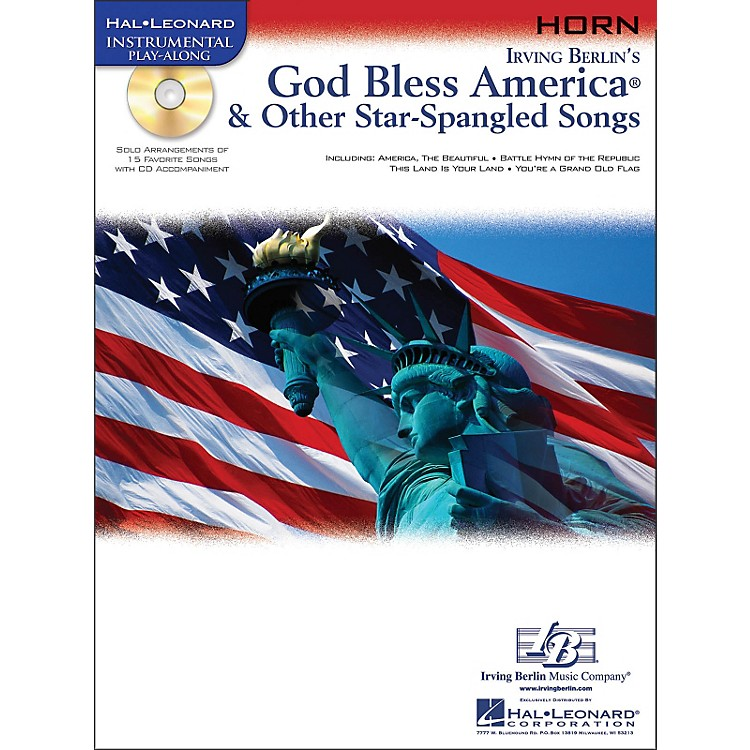 Hal LeonardGod Bless America & Other Star-Spangled Songs for French Horn Instrumental Play-Along Book/CD