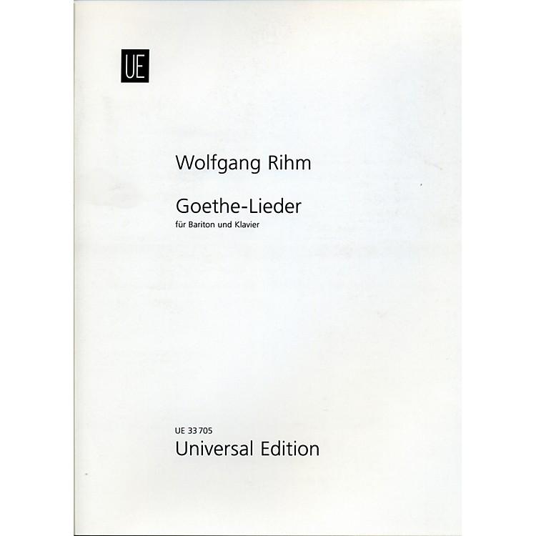 Theodore PresserGoethe-Lieder