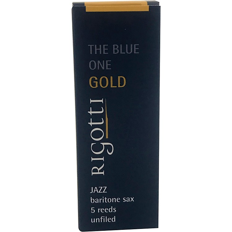 Rigotti Gold Baritone Saxophone Reeds Strength 2.5 Strong