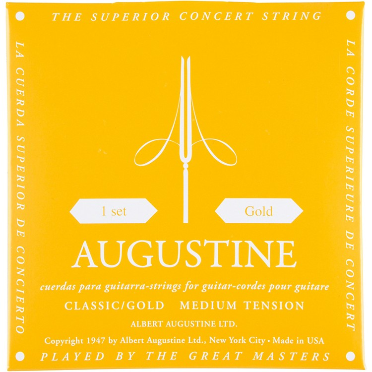 Albert Augustine Gold Label Classical Guitar Strings