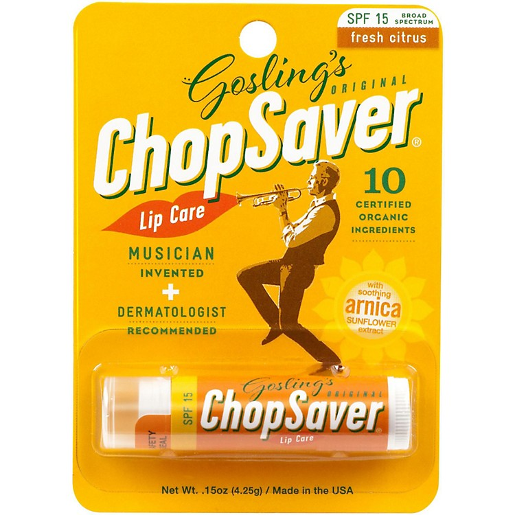 ChopSaverGold Lip Balm with SPF Protection