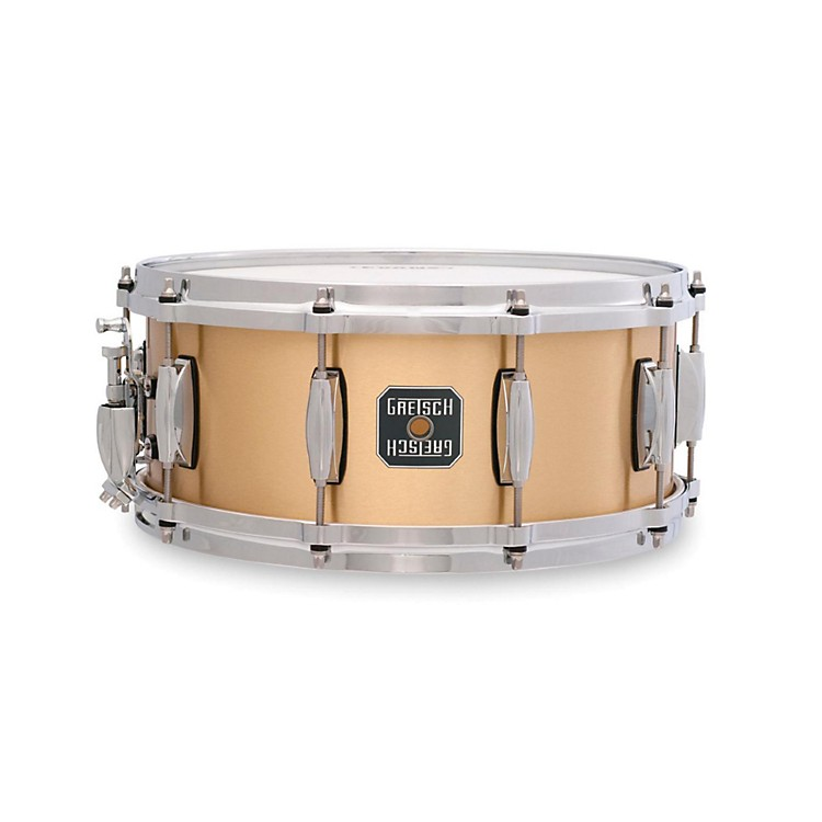 Gretsch Drums Gold Series Bell Brass Snare Drum 14X6.5