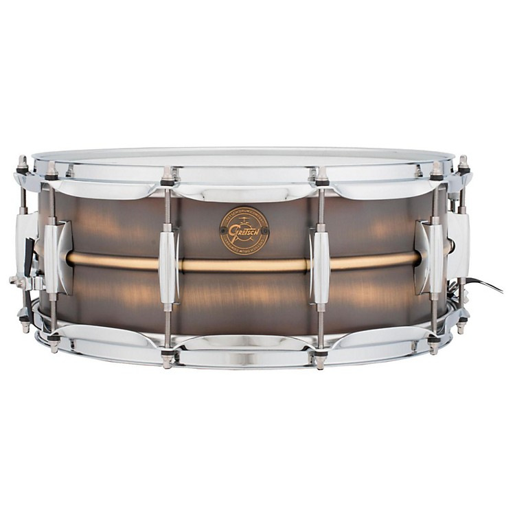 Gretsch Drums Gold Series Brushed Brass Snare Drum 14 x 5.5