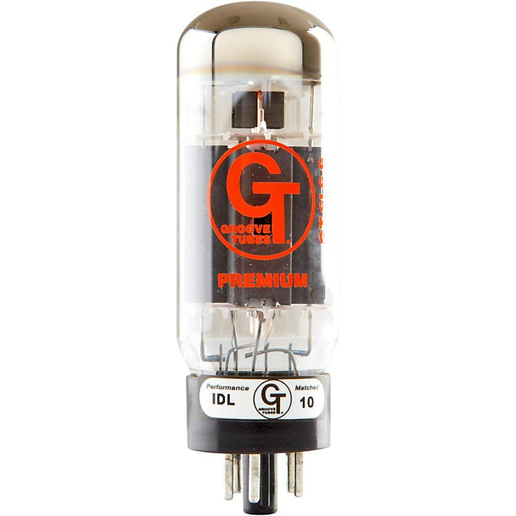 Groove Tubes Gold Series GT-6L6-S Matched Power Tubes High (8-10 GT Rating) Sextet