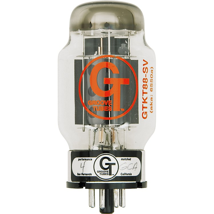 Groove TubesGold Series GT-KT88-SV Matched Power TubesHigh (8-10 GT Rating)Quartet