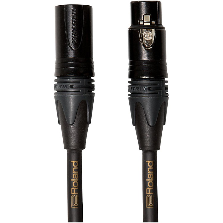 RolandGold Series Microphone Cable10 ft.Black