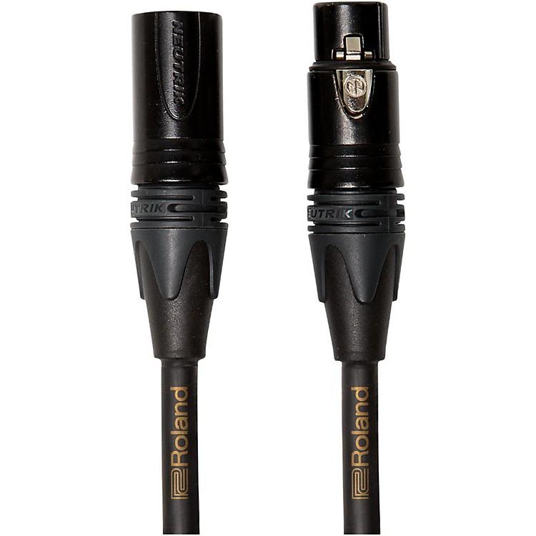RolandGold Series XLR Microphone Cable25 ft.Black