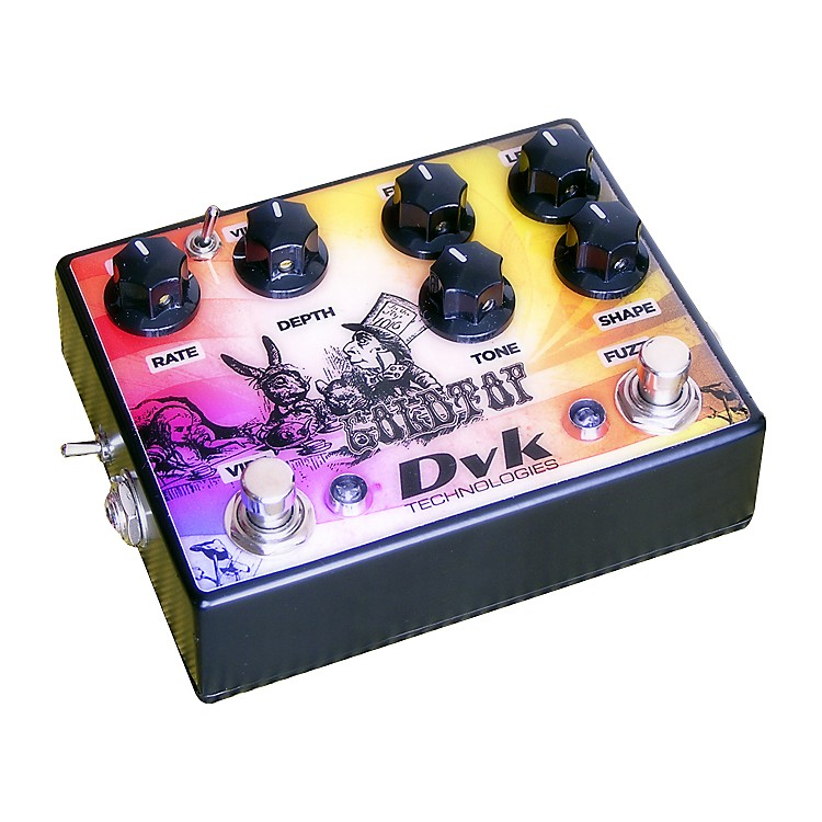 DVKGoldtop Fuzz and Vibe Guitar Effects Pedal