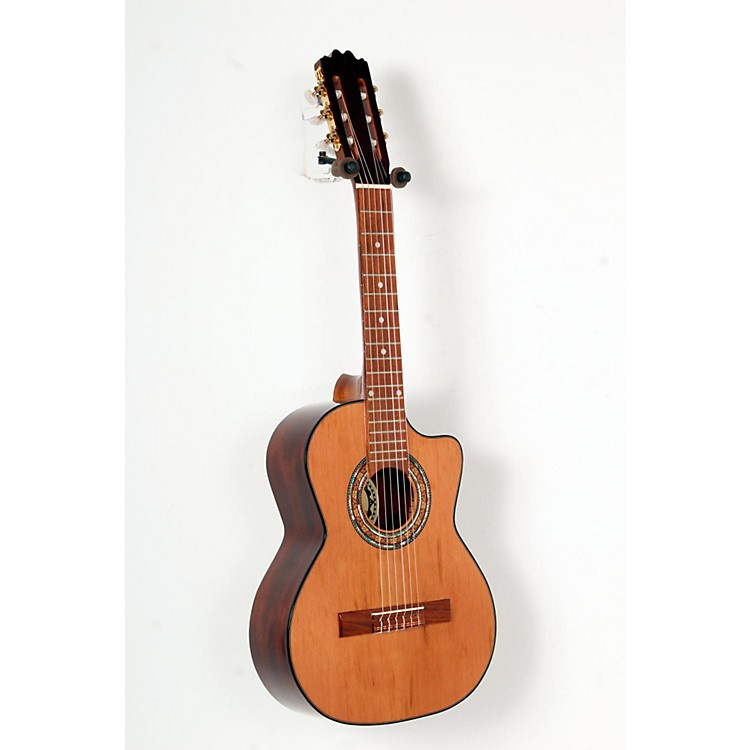 Paracho Elite Guitars Gonzales 6 String Requinto Natural 888365796833