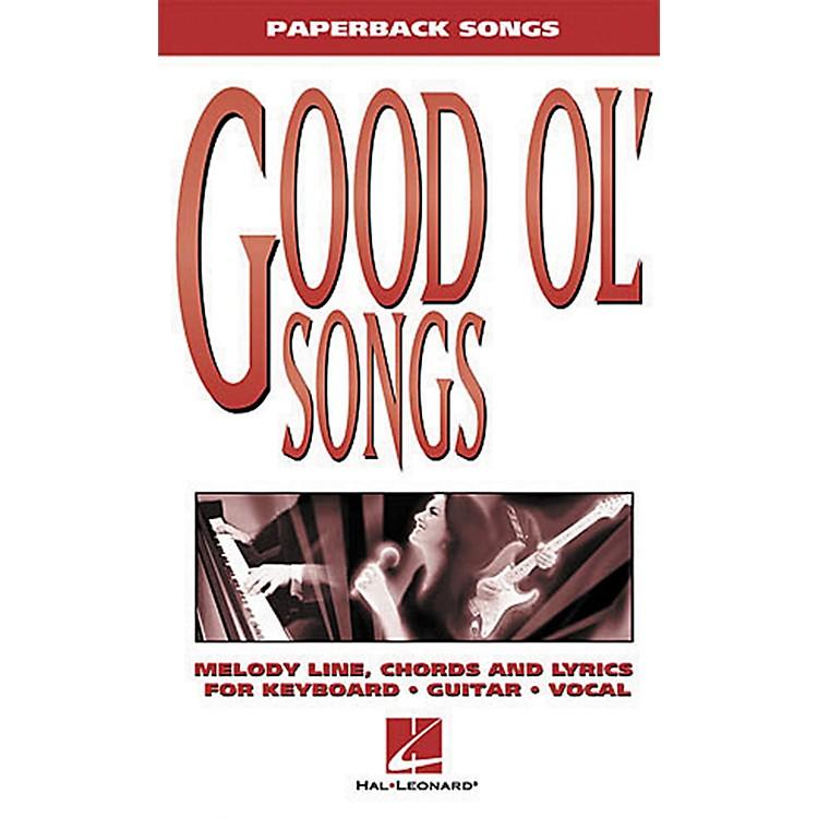 Hal LeonardGood Ol' Songs Piano, Vocal, Guitar Songbook