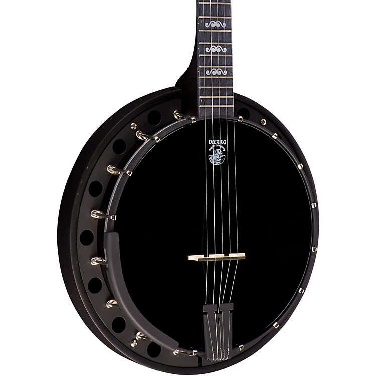 Deering Goodtime Blackgrass 5-String Banjo Natural