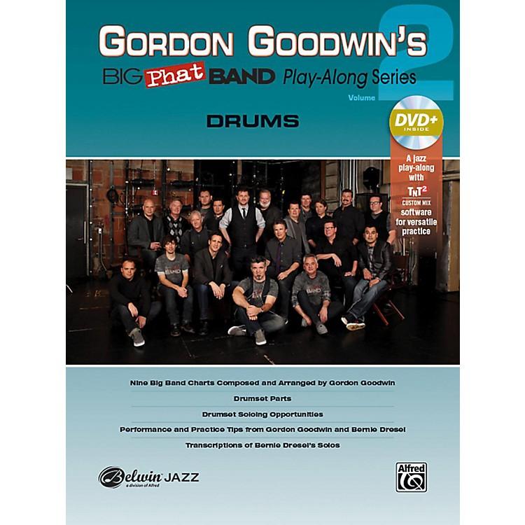 AlfredGordon Goodwin's Big Phat Band Play-Along Series Drums Vol. 2 Book & DVDRom