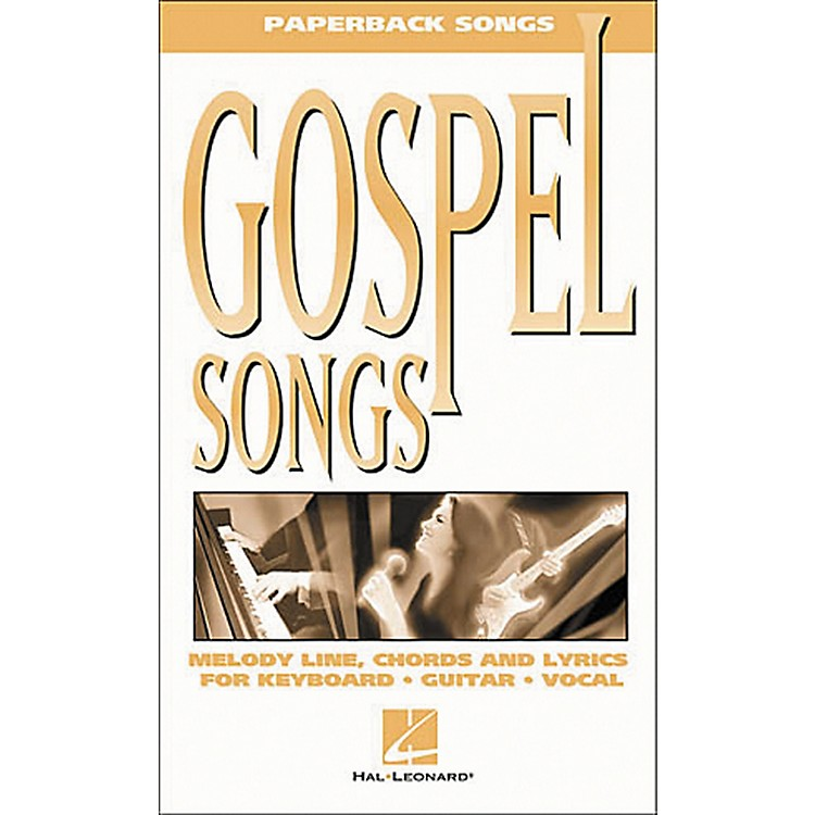 Hal LeonardGospel Songs Piano, Vocal, Guitar Songbook