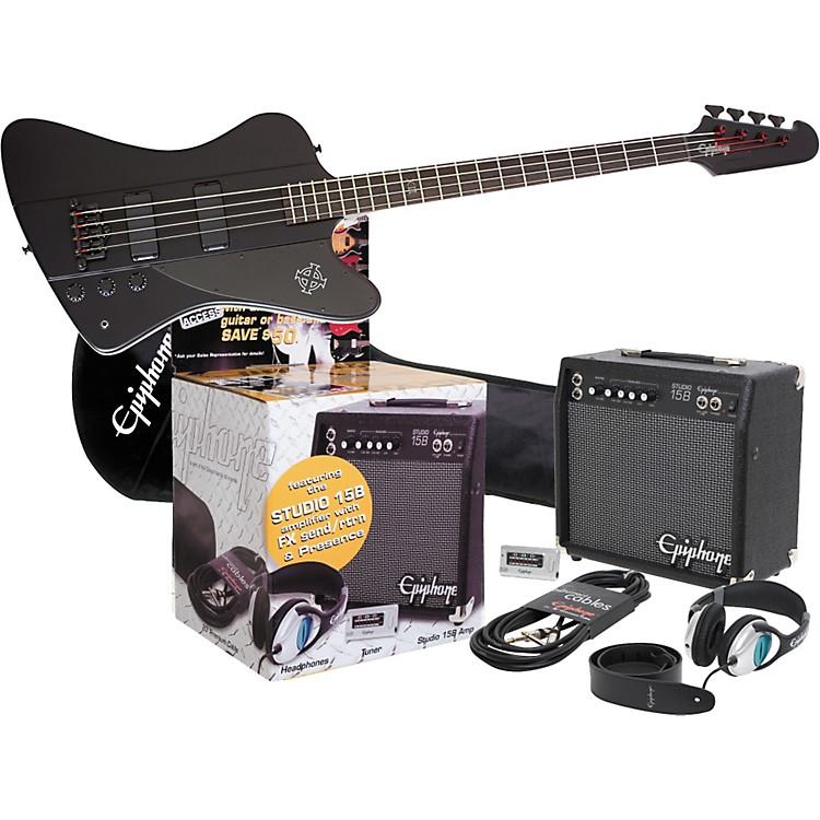EpiphoneGoth Thunderbird IV All Access Bass Pack