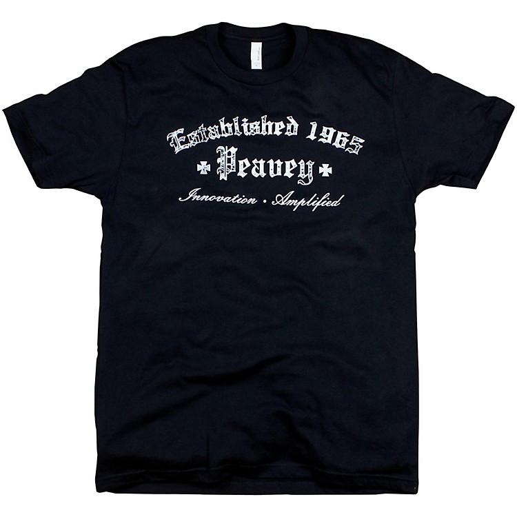 PeaveyGothic T-ShirtBlackLarge