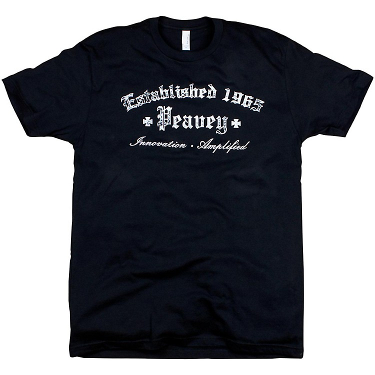 PeaveyGothic T-ShirtBlackXX-Large
