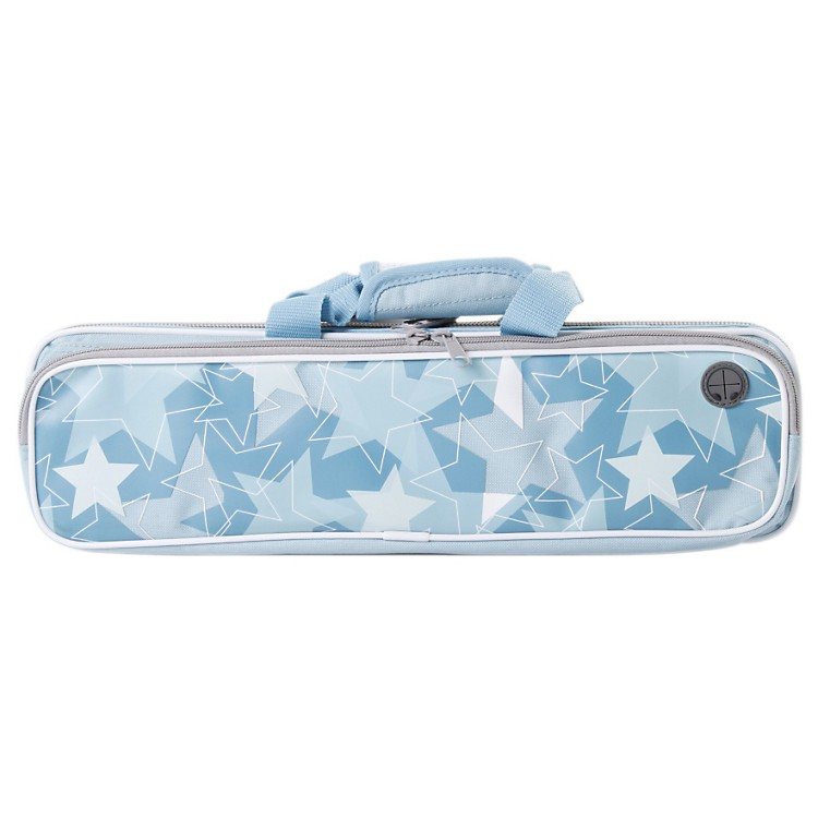Kaces Grafix Blue Stars Series Polyfoam Flute Case
